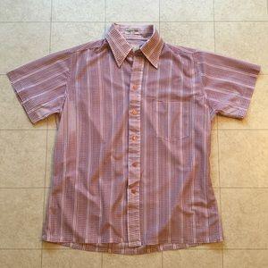 Vintage 60s/70s Branford Men's Button Down Shirt